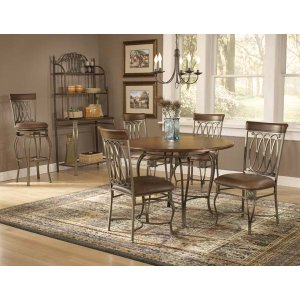 "Hillsdale FurnitureMontello 5pc 45"" Dining Set"