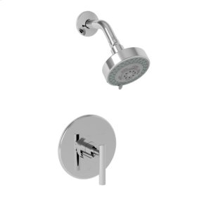 Weathered Brass Balanced Pressure Shower Trim Set