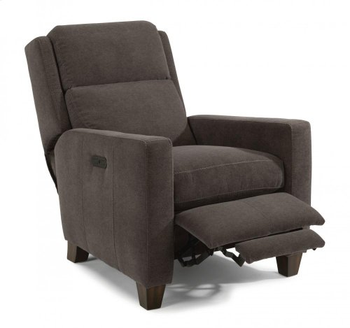 Carlin Leather Power High-Leg Recliner with Power Headrest