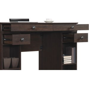 The handsome Emporia desk is countertop height with plenty of workspace. Th...