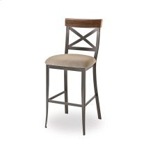 Kyle Non Swivel Stool (distressed Wood)
