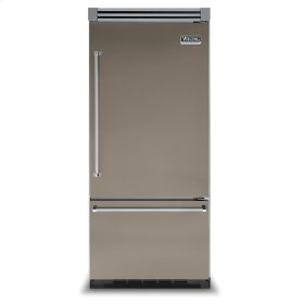 "Stone Gray 36"" Bottom-Mount Refrigerator/Freezer - VIBB (Right Door Hinge)"