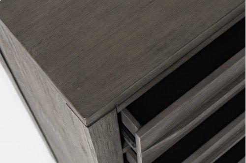 Altamonte 5 Drawer Chest - Brushed Grey
