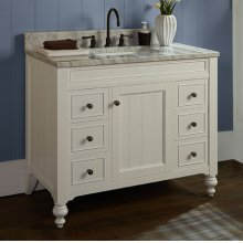"Crosswinds 42"" Vanity - White"