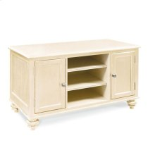 "Camden Buttermilk 48"" Entertainment Center-KD Feet"