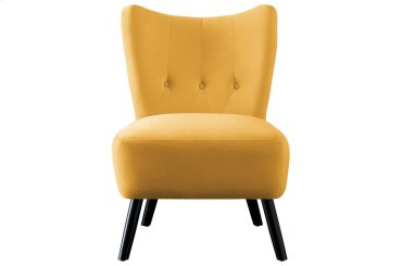 Accent Chair, Yellow