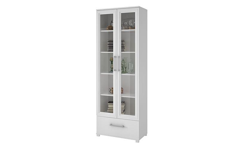 Serra 1.0- 5- Shelf Bookcase in White