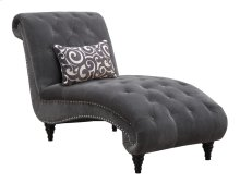 Chaise Nailhead W/kidney Pillow