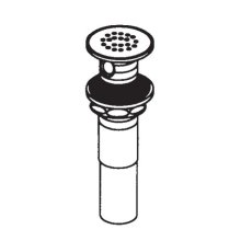 "Commercial 1 1/4"" grid strainer waste"