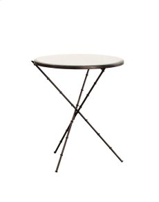 Iron and Mirror End Table Product Image