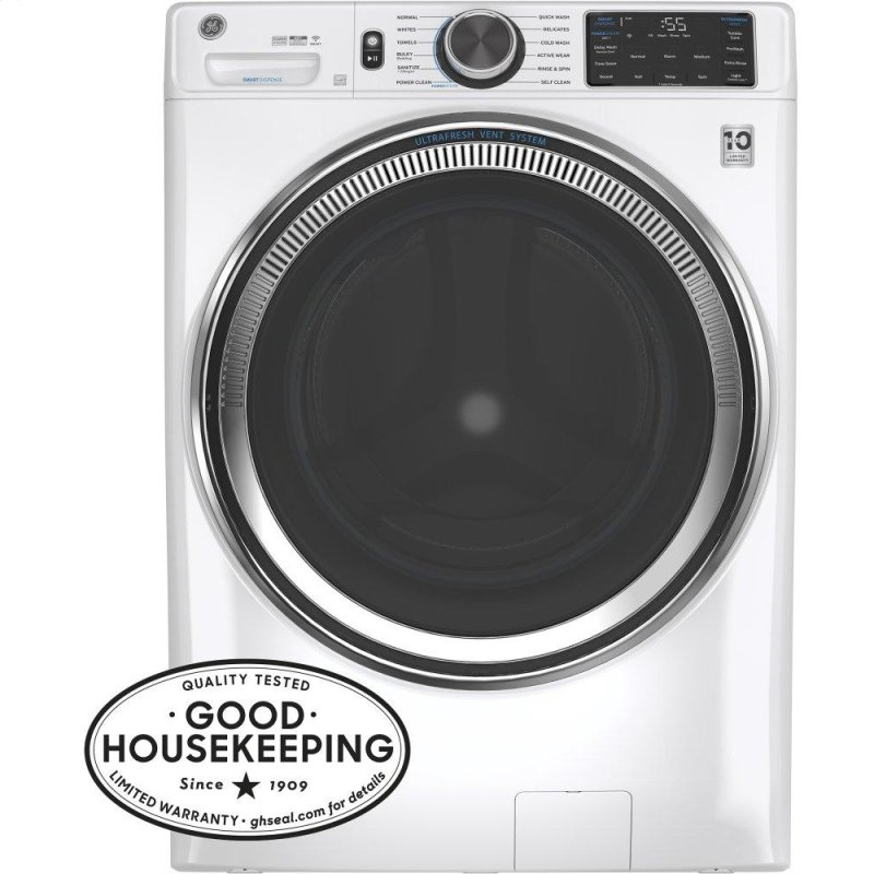 ®4.8 cu. ft. Capacity Smart Front Load ENERGY STAR® Steam Washer with SmartDispense™ UltraFresh Vent System with OdorBlock™