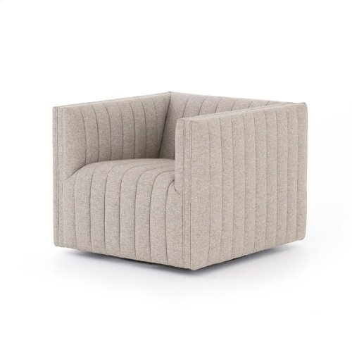 Orly Natural Cover Augustine Swivel Chair