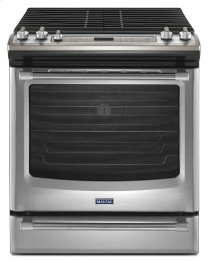 Maytag® 30-inch Gas Range with Convection and Fit System - 5.8 cu. ft. - Stainless Steel