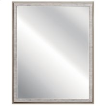Millwright Mirror Rubbed Gray