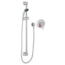 Commercial Shower System, 2.5 gpm, Less Valve - Polished Chrome
