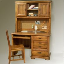 Desk, Organization hutch, and Desk Chair
