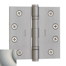 Satin Nickel with Lifetime Finish Ball Bearing Hinge