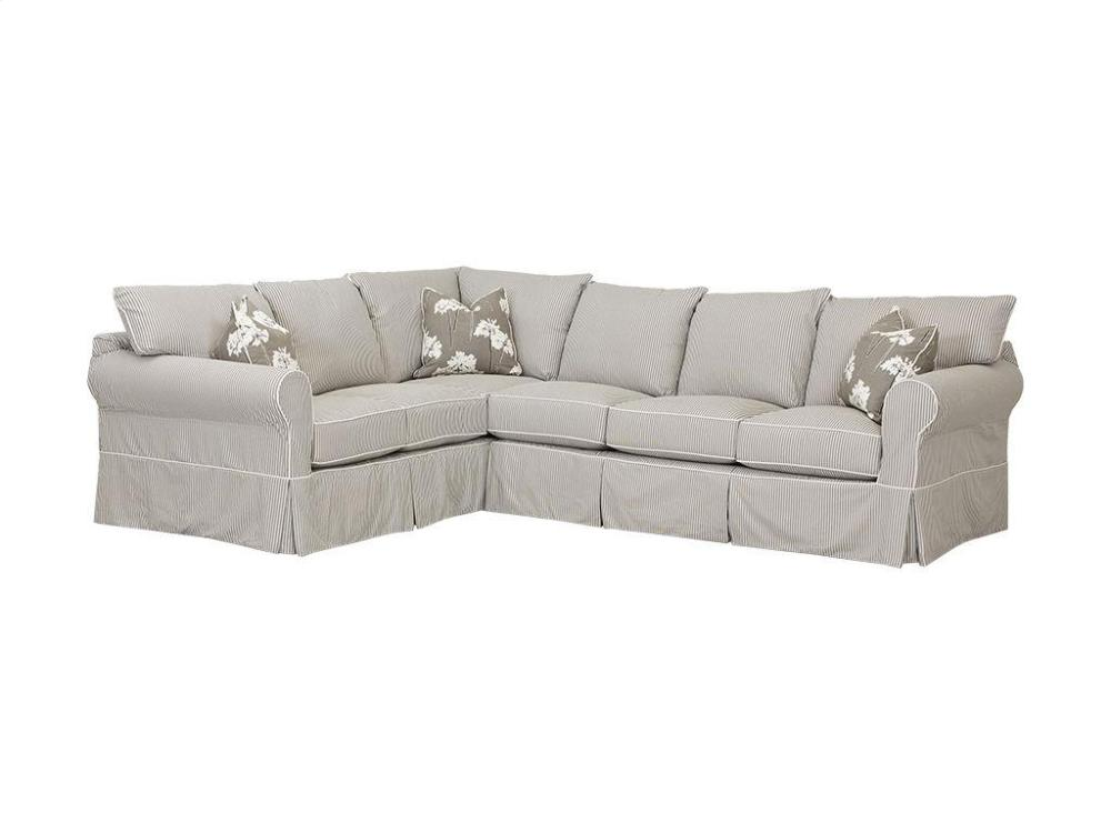 D16100fabsect In By Klaussner Myrtle Beach Sc Jenny Sectional D16100 Fab