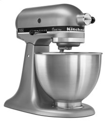 Classic Plus Series 4.5 Quart Tilt-Head Stand Mixer - Silver
