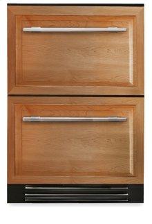 24 Inch Overlay Panels Undercounter Refrigerator Drawer - Overlay Panels