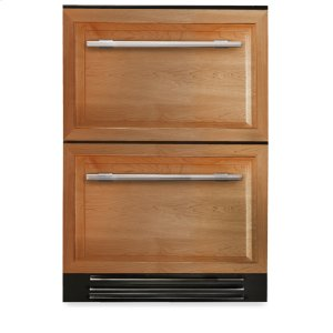 True Residential24 Inch Overlay Panels Undercounter Refrigerator Drawer - Overlay Panels