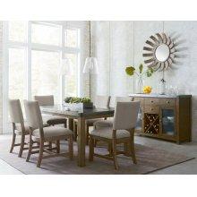 Standard Furniture 13460 Riverton Rectangular Dining Table Aztec Houston Texas
