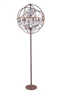 1130 Geneva Collection Floor Lamp Rustic Intent Finish