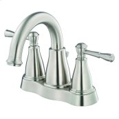 Brushed Nickel Eastham Two Handle Centerset Lavatory Faucet