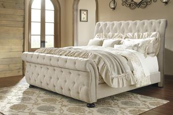 Willenburg - Dark Brown 3 Piece Bed Set (Queen)