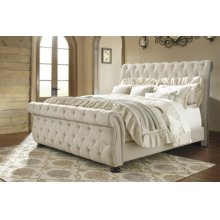 Queen Upholstered Footboard