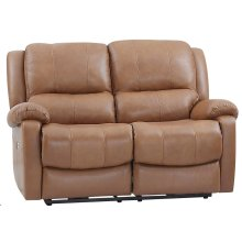 E1716 Xan Pwr Loveseat 177136lv Peanut Brown