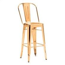 Elio Bar Chair Gold