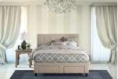 Duggan Front Storage Bed - King - Rails Included
