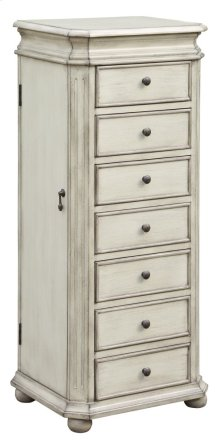 Laurel French White Jewelry Armoire