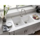 Elkay Harmony Single Hole Kitchen Faucet with Pull-down Spray and Lever Handle Brushed Nickel Product Image