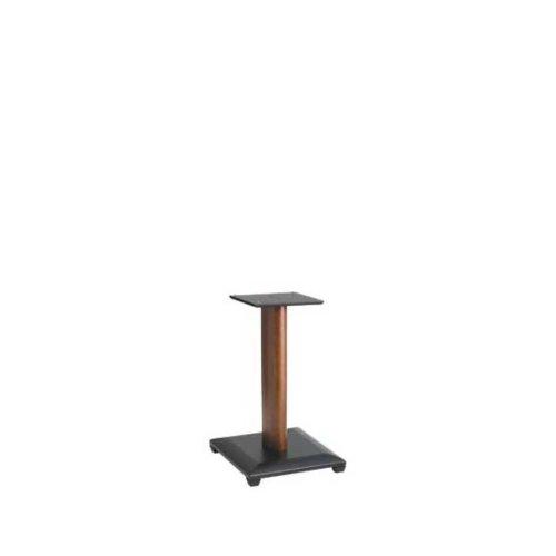 "Cherry 18"" Natural Series Wood Pillar Bookshelf Speaker Stands - Pair"