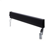 Frigidaire Black Slide-In Range Adjustable Metal Backguard Product Image