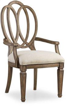 Solana Wood Back Arm Chair