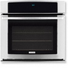 """27"""" Electric Single Wall Oven with Wave-Touch Controls"""