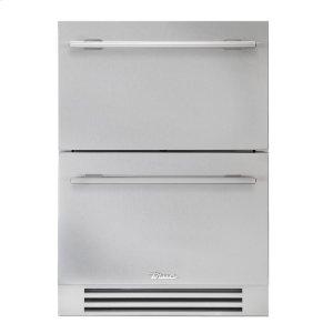 True Residential24 Inch Solid Stainless Door Undercounter Refrigerator Drawer