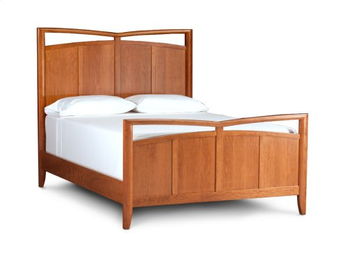 Monarch Panel Bed, Queen Floor Model Clearance