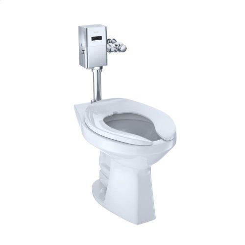 Commercial Flushometer High Efficiency Toilet, 1.28 GPF, ADA Compliant, Elongated Bowl - Cotton
