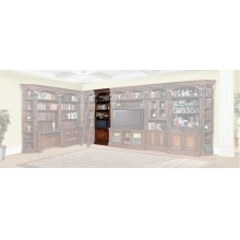Corsica 32 in. Open Top Bookcase