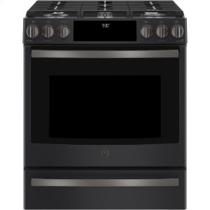 "GE Profile30"" Smart Slide-In Front-Control Gas Range"