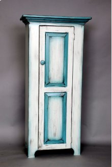 """#116 Single Door Jelly Cupboard 23.5""""wx14""""dx48.5""""h"""
