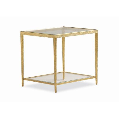 Jinx Brass Side Table