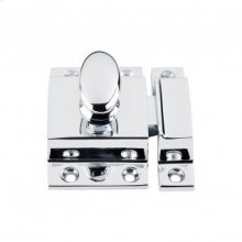Cabinet Latch 2 Inch - Polished Chrome