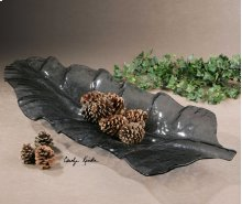 Smoked Leaf Tray