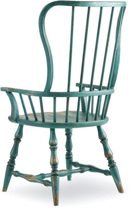 Sanctuary Spindle Arm Chair