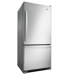 Amana® 29-inch Wide Amana® Bottom-Freezer Refrigerator with EasyFreezer™ Pull-Out Drawer - 18 cu. ft. Capacity